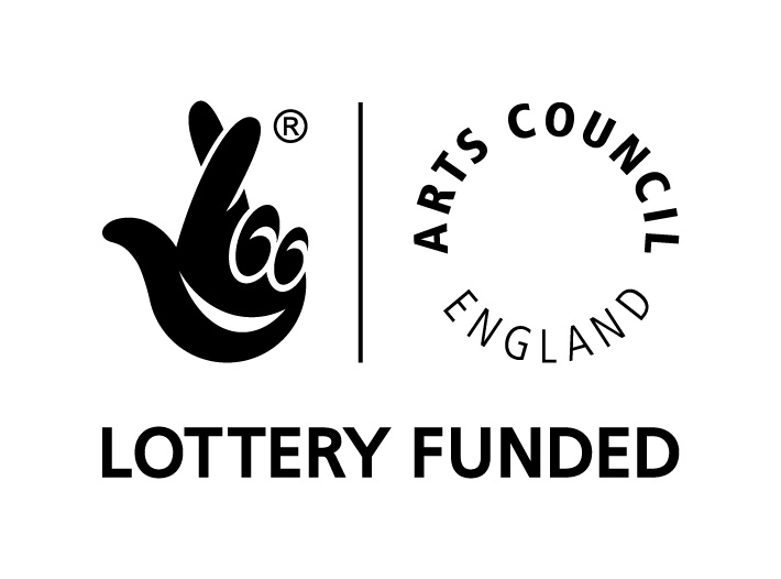 supported by Arts Council England's Grants for the Arts funding programme